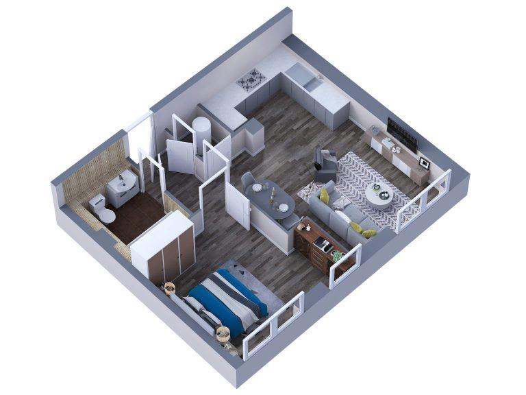 Floor plan Service Sussex Hampshire