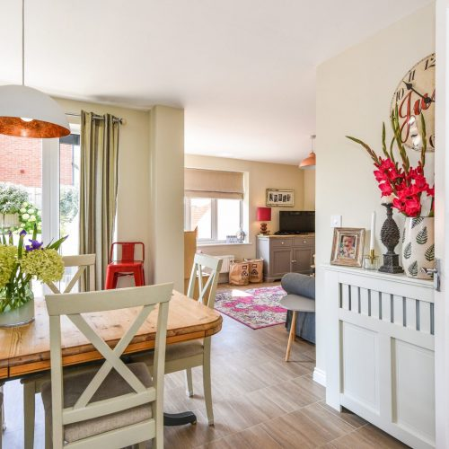 Warm and welcoming property photography